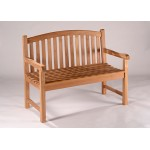 Devon 120 4ft Teak Bench