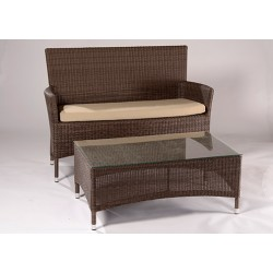 Ocean Two Seat Bench and Table