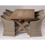 Vintage Teak Table and Seats