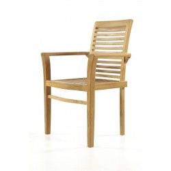Coniston Teak Garden Stacking Chair