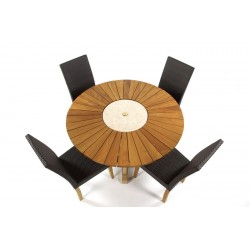 Kendal Dining Chairs With 130 Sunshine Table