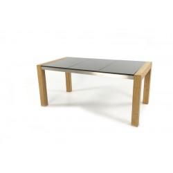 Ocean 170 Granite Top Teak Stainless Steel Frame Table