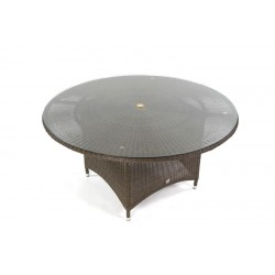 Pacific 150 Ebony All Weather Loom Table