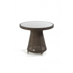 Pacific 80 Ebony all weather Loom Table