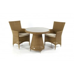 Pacific 80 All Weather Loom Table Set