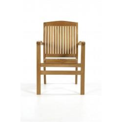 Somerset Teak Stacking Chair
