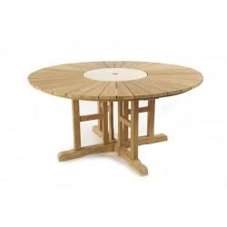 Sunshine Teak Garden Table 160